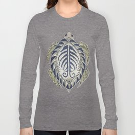 Sea Turtle cutout Long Sleeve T-shirt