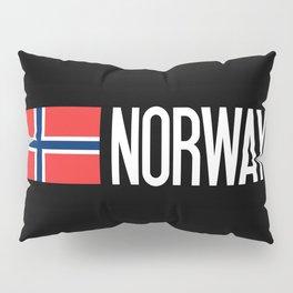 Norway: Norwegian Flag & Norway Pillow Sham