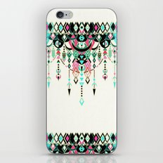 Modern Deco in Pink and Turquoise iPhone & iPod Skin