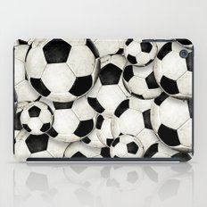 Dirty Balls - footballs iPad Case