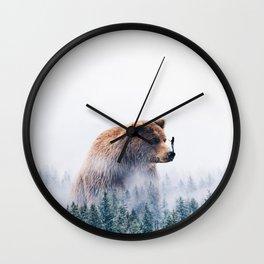 Beyond the Haze Wall Clock