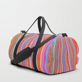 Wild Wavy Lines I Duffle Bag