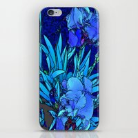 iris iPhone & iPod Skins featuring Iris by lillianhibiscus