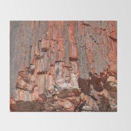 Agathe Log Texture Throw Blanket