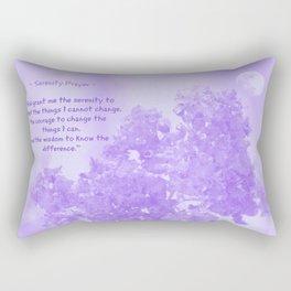 Serenity Prayer - V Rectangular Pillow