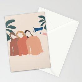 Friends Pop Art 4 Stationery Cards