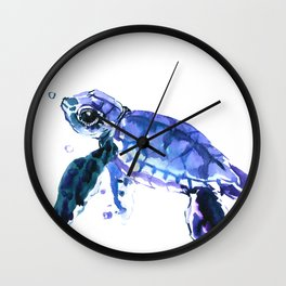 Cute Baby Turtle Wall Clock