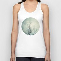 poem Tank Tops featuring Winter Poem  by Laura Ruth