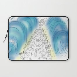 Passover Seder (without text) Laptop Sleeve