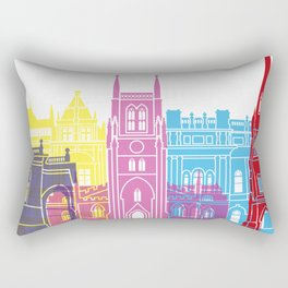 Blackburn skyline pop Rectangular Pillow