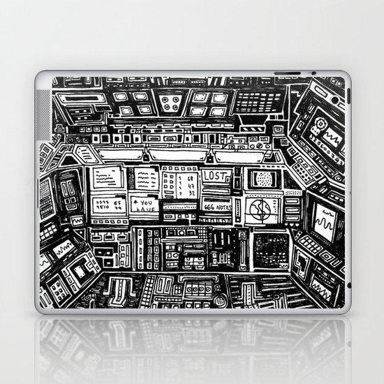 Lost cabin 666 Laptop & iPad Skin