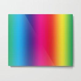 Bright Color Palette Metal Print