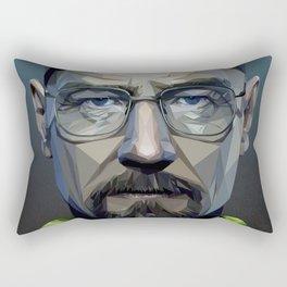 Low Poly Walter White Rectangular Pillow