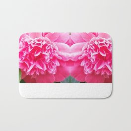 Pink Camelia  Bath Mat