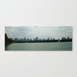 THE SILENCE IN THE MIDDLE OF NOISE Canvas Print