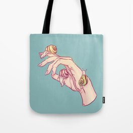 Hand Study No.1 // The Snails One Tote Bag