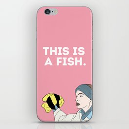 This is a Fish iPhone Skin