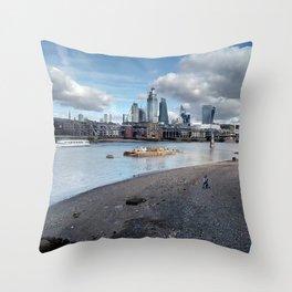 London South Bank. Throw Pillow
