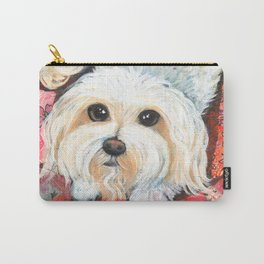 Maltese by Robynne Carry-All Pouch