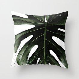 MONSTERA Throw Pillow