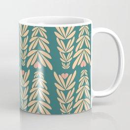 retro floral background Coffee Mug
