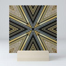 Glam Cross Star Mini Art Print