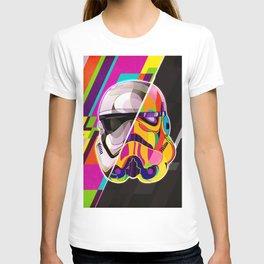 Pop-Art Stormtrooper StarWars - Abstract Artwork T-shirt