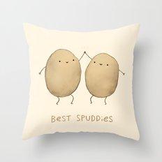 Best Spuddies Throw Pillow
