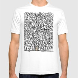 Alone in the crowd T-shirt