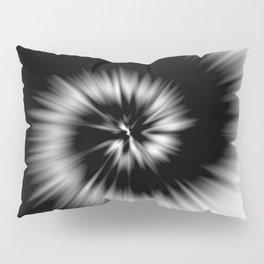 TIE DYE #1 (Black & White) Pillow Sham