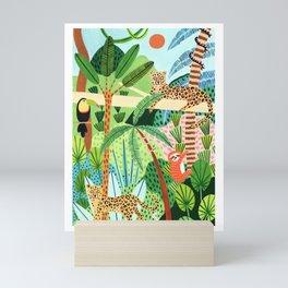 Jungle Pals Mini Art Print