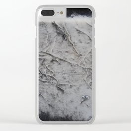 Grave Stone Clear iPhone Case