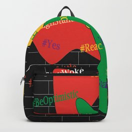 Hashtags Up Backpack