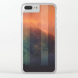 Fractions A98 Clear iPhone Case