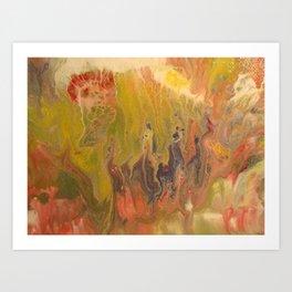 Tulip Morning Art Print