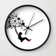 the Swingset Wall Clock