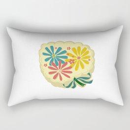 Lucy Floral Rectangular Pillow