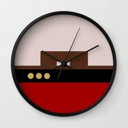 William Riker - Minimalist Star Trek TNG The Next Generation - Commander - startrek - Trektangles Wall Clock