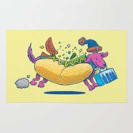 Chicago Dog: Lunch Pail Rug