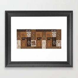 Fat Caffe Framed Art Print