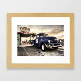 Mr D'z Diner  Framed Art Print