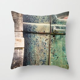 Thirties Pickup Throw Pillow