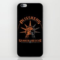 discount iPhone & iPod Skins featuring Snake Plissken's Search & Rescue Pty. Ltd. by 6amcrisis