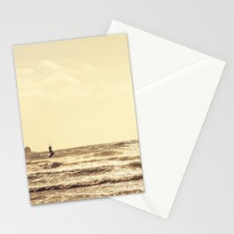 Kite Surfing, Newquay, Cornwall. Stationery Cards