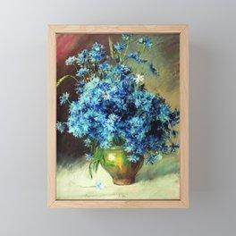Cornflowers by Isaac Levitan 1894 Framed Mini Art Print