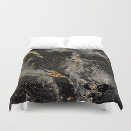 Galaxy (black gold) Duvet Cover