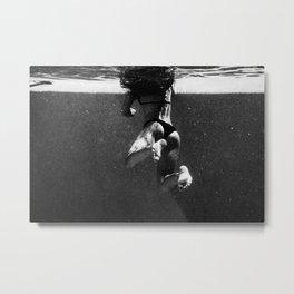 Floaty Girl  Metal Print