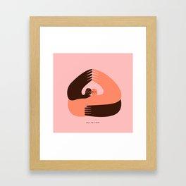 U+Me=Home Framed Art Print