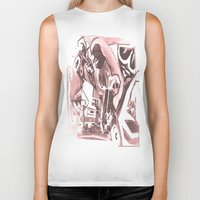 madonna Biker Tanks featuring La Madonna by Davide Spinelli