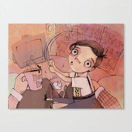Neville  Canvas Print